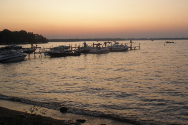 West Lake Okoboji Sunset