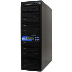 Produplicator 24X 9 Burner M-Disc Support CD DVD Duplicator